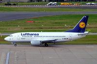 D-ABIN @ EGLL - Boeing 737-530 [24938] (Lufthansa) Birmingham Int'l~G 17/08/2007 - by Ray Barber