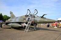 654 @ LFOT - Dassault Mirage 2000D, Static display, Tours-St Symphorien Air Base 705 (LFOT-TUF) Open day 2015 - by Yves-Q