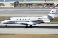 D-CKHG @ LMML - Cessna560XLS Citation Excel D-CKHG Windrose Aviation - by Raymond Zammit