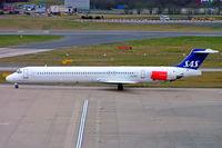 LN-RMC @ EGBB - McDonnell Douglas DC-9-82 [49909] (SAS Scandinavian Airlines) Birmingham Int'l~G 22/02/2008 - by Ray Barber