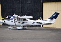 G-SEHK @ EGTF - Cessna 182T Skylane at Fairoaks. Ex N232TD - by moxy