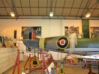 AR501 - In workshop at Shuttleworth Old Warden - by P Byers