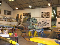 AR501 - In workshop at Shuttleworth, Old Warden - by P Byers