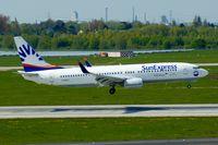 D-ASXJ @ EDDL - Sun Express Deutschland (op. for Eurowings), is here landing at Düsseldorf Int'l(EDDL) - by A. Gendorf