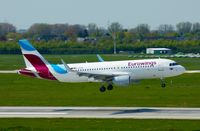 D-AIZQ @ EDDL - Eurowings, is here shortly before touchdown at Düsseldorf Int'l(EDDL) - by A. Gendorf