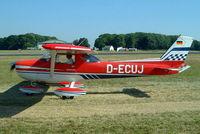 D-ECUJ @ EGBP - R/Cessna FRA.150L Aerobat [0184] Kemble~G 13/07/2003 - by Ray Barber