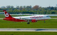 D-ABZB @ EDDL - Air Berlin, is here landing at Düsseldorf Int'l(EDDL) - by A. Gendorf