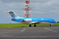 PH-KZP @ EGSH - Departing from Norwich. - by Graham Reeve