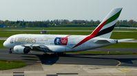 A6-EER @ EDDL - Emirates (FA-Cup cs.), seen here at Düsseldorf Int'l(EDDL) - by A. Gendorf
