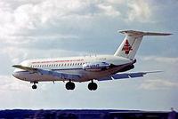 G-AZUK @ EGLF - BAC 1-11/476FM One-Elven [241] (British Aircraft Corporation) Farnborough~G 10/09/1972. From a slide.