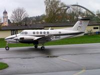 D-IBAD @ EDMV - Beech B200 Super King Air [BB-1229] Vilshofen~D 18/04/2005 - by Ray Barber