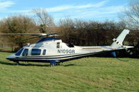 N109GR @ EGBC - Agusta A.109E Power [11043] Cheltenham Racecourse~G 16/03/2004 - by Ray Barber