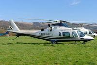 N109GR @ EGBC - Agusta A.109E Power [11043] Cheltenham Racecourse~G 18/03/2005 - by Ray Barber