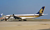 9V-SJJ @ LIRF - Airbus A340-313X [190] (Singapore Airlines) Rome-Fiumicino~I 11/09/1999 - by Ray Barber