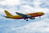 OO-DLG @ EGLL - Airbus A300B4-203F [208] (DHL) Home~G 24/06/2006. On approach 27L.