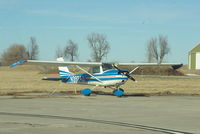 N3924J @ KEVU - Sitting on the ramp in Maryville MO - by Floyd Taber