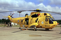 ZA105 @ EGVI - Westland WS.61 HAR.3 Sea King [WA886] (Royal Air Force) RAF Greenham Common~G 27/06/1981