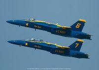 163455 @ USNA - Over U.S. Naval Academy Annapolis MD. - by J.G. Handelman