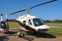 ZS-HHW @ FAVG - Bell 206B-3 Jet Ranger III [2551] Durban-Virginia~ZS 18/09/2006