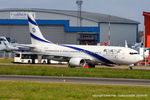 4X-EHI @ EGGW - El Al Israel Airlines - by Chris Hall