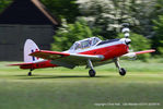 G-HAPY @ EGTH - 70th Anniversary of the first flight of the de Havilland Chipmunk Fly-In at Old Warden - by Chris Hall