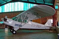 ZS-PEP @ FAPM - Piper J/3C-65 Cub [14920] Pietermaritzburg~ZS 18/09/2006 - by Ray Barber