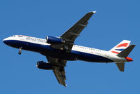 G-EUUJ @ EGLL - Airbus A320-232 [1883] (British Airways) Home~G 20/09/2013. On approach 27R.