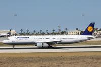 D-AISG @ LMML - A321 D-AISG Lufthansa - by Raymond Zammit