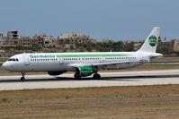D-ASTW @ LMML - Departing runway 31 - by Keith Pisani