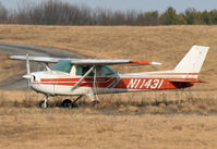 N11431 @ KSCH - Sitting out in a remote corner of the airfield, this Cessna appears not to have flown for a while. - by Daniel L. Berek
