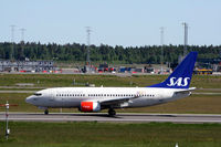 LN-RPK @ ENGM - LN-RPK, newly repainted. Now with the Scandinavian symbols in stead of the Norwegian flag c/s. - by Erik Oxtorp