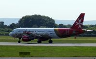 9H-AEO @ EGCC - At Manchester - by Guitarist