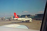 TC-JLU @ IST - Pushing off from gate at Atatürk International