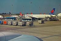 TC-ONS @ IST - Disembarking at Atatürk International