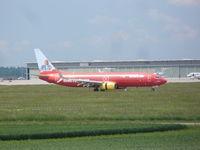 D-AHFZ @ EDDS - CEWE.de Boeing 737-8K5 - by Christian Maurer
