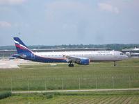 VP-BTG @ EDDS - Aeroflot Airbus A321 - by Christian Maurer