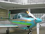 D-EFWC @ EDNX - D-EFWC is a rather colourful exhibit at Oberschleißheim Aviation Museum - by Adam Loader