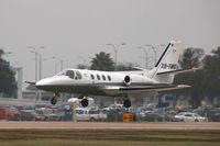 XB-TMG @ KAUS - Cessna 501