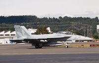 166980 @ KBFI - XE-222 taxing for takeoff to fly back to China Lake. - by Eric Olsen