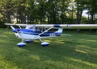 N3122J @ 66G - Cessna 150G parked at Zender Field - by tawood