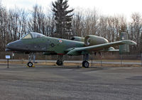 75-0263 @ KSCH - This Warthog fits in very nicely at the ESAM collection. - by Daniel L. Berek