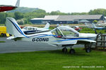 G-CDNG @ EGBS - at Shobdon - by Chris Hall