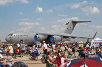 04-4130 @ KWRI - A C-117 basks among the admiring crowds at a McGuire AFB open house in 2008. - by Daniel L. Berek