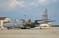 90-1794 @ KWRI - This Hercules sports a commemorative logo for the Ohio Air National Guard. - by Daniel L. Berek