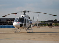 N187AE @ KWRI - I was surprised to find this civilian helicopter at an Air Force open house, McGuire AFB. - by Daniel L. Berek