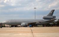 87-0123 @ KWRI - This KC-10 strikes a classic profile at a 2008 open house. - by Daniel L. Berek