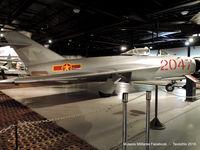 2047 - Mikoyan-Gurevich MiG-17 - by Tavoohio