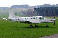 ZK-JHM @ LSZO - Pacific Aerospace 750XL [152] Luzern/Beromunster~HB 08/04/2009