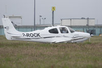2-ROCK @ GCI - Lined up ready for a 27 departure - shame about the long grass... - by alanh