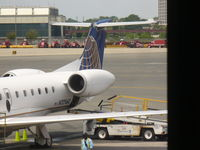 N12160 @ EWR - ERJ-145XR TAIL - by Christian Maurer